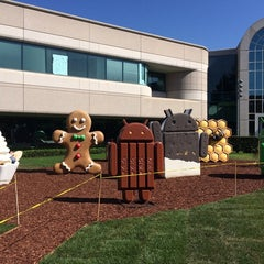 Photo taken at Googleplex - 44 by さとる on 9/8/2014