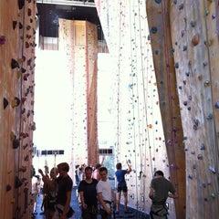 Photo taken at Hardrock Indoor Rock Climbing by Javier F. on 1/8/2013