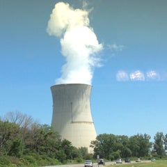 Photo taken at Davis-Besse Nuclear Power Station by Vicki G. on 8/3/2013