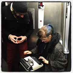 Photo taken at MTA Subway - 3rd Ave (L) by Leandro E. on 3/8/2015
