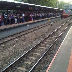 Photo taken at Stasiun Sudirman by Kirman S. on 4/24/2013