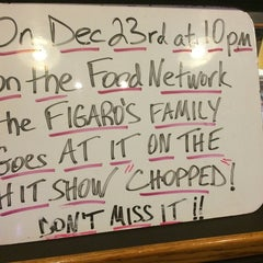 Photo taken at Figaro's by john m. on 12/17/2014