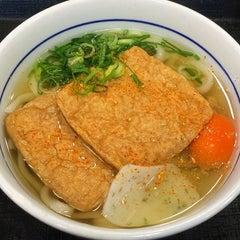 Photo taken at なか卯 池袋サンシャイン前店 by Hoppyman on 11/20/2015