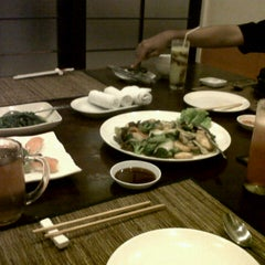 Photo taken at Silla (Korean Japanese Chinese Restaurant) by ellen s. on 12/1/2012