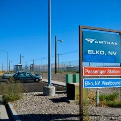 Photo taken at Elko Amtrak (ELK) by Kevin M. on 12/19/2012
