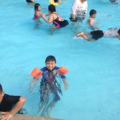 Photo taken at Sagara swimming pool by Debbie I. on 3/14/2014
