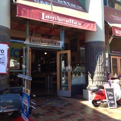Photo taken at Lambretta's Cafe & Bar by Tammy K. on 1/24/2015
