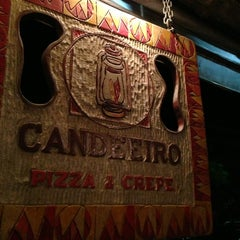 Photo taken at Candeeiro Pizza & Crepe by Ulisses B. on 4/7/2013