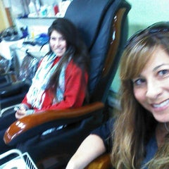 Photo taken at Hollyja Salon by Marie A. on 11/9/2012