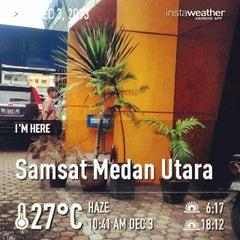 Photo taken at Samsat Medan Utara by Reza B. on 12/3/2013