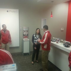 Photo taken at Verizon by John O. on 12/13/2012