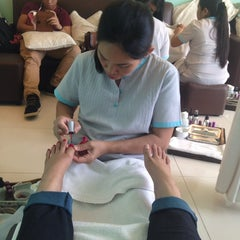 Photo taken at Nail Spa by YaNa T. on 10/14/2013