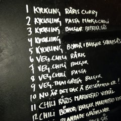 Photo taken at Restaurang Kalori by Simon K. on 11/14/2013