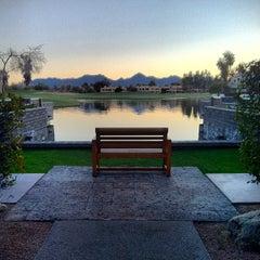 Photo taken at Hyatt Regency Scottsdale Resort and Spa at Gainey Ranch by Frank M. on 2/25/2013