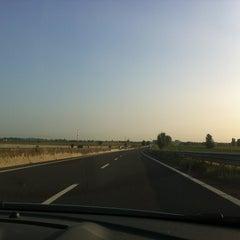 Photo taken at Autostrada A13 by Sara C. on 8/24/2013