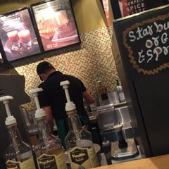 Photo taken at Starbucks | ستاربكس by mashael b. on 10/1/2015