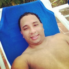 Photo taken at Barcelo Premium Pool by Amauris A. on 1/7/2014