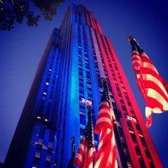 Photo taken at 30 Rockefeller Plaza by Brandon M. on 11/6/2012