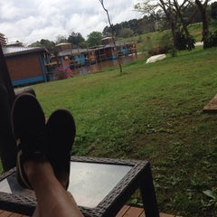Photo taken at Maitei Posadas Hotel & Resort by Lautaro R. on 9/6/2014