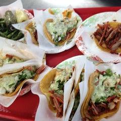 Photo taken at Tacos El Gordo by Albert M. on 1/2/2013
