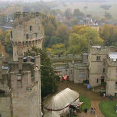 Photo taken at Warwick Castle by Alexey P. on 10/23/2012