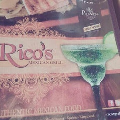 Photo taken at Rico's Grill by Abimael A. on 8/28/2013