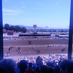 Photo taken at California Rodeo Salinas by Alex J. on 7/21/2013