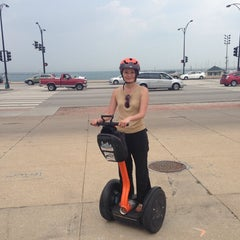 Photo taken at Chicago Segway Tours by hiro n. on 8/4/2014