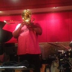 Photo taken at The Jazz Room at The Kitano by Andrew L. on 8/10/2014