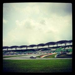 Photo taken at Sepang International Circuit (SIC) by Crazzy J. on 5/19/2013