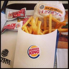 Photo taken at Burger King by Ricky Z. on 3/26/2013