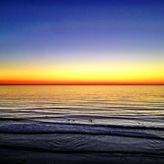 Photo taken at Beacon's Beach by Heidi A. on 10/28/2012