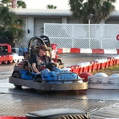 Photo taken at Lil 500 Go Karts by Tammy M. on 2/10/2013