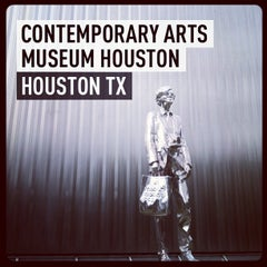 Photo taken at Contemporary Arts Museum Houston by Martin L V. on 5/29/2013