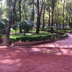 Photo taken at Parque Arboledas by Óscar V. on 10/11/2013