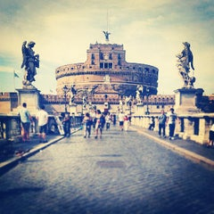 Photo taken at Castel Sant'Angelo by Piotr W. on 8/16/2013