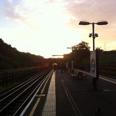 Photo taken at Hanger Lane London Underground Station by KcChano on 10/18/2013