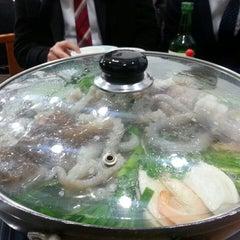 Photo taken at 무교동유림낙지 by CK on 12/19/2013