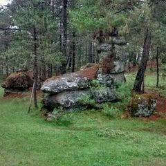 Photo taken at Cerro de Amalucan by George G. on 10/6/2015