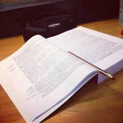 Photo taken at Biblioteca di Scienze Sociali by Katia R. on 10/28/2013