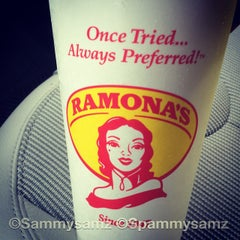 Photo taken at Ramona's Mexican Food by Sammy B. on 9/8/2014
