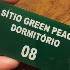 Photo taken at Sítio Green Peace - Pousada e Eventos by Sítio G. on 11/13/2015