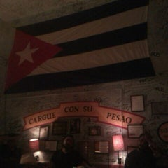 Photo taken at La Bodeguita del Medio by Sergio S. on 6/1/2012