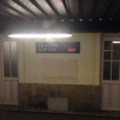 Photo taken at Gare SNCF de La Roche-sur-Yon by Don Rimini X. on 4/17/2014