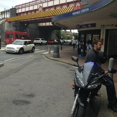 Photo taken at Perivale London Underground Station by Alfama on 8/14/2013