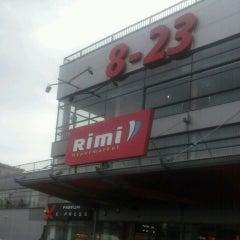 Photo taken at Rimi Hypermarket by Daniele Liepa B. on 8/19/2013