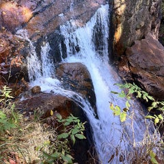 Photo taken at Flume Gorge by Heather A. on 10/12/2013