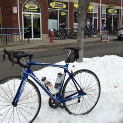 Photo taken at Piermont Bicycle Connection by Rob H. on 4/5/2015
