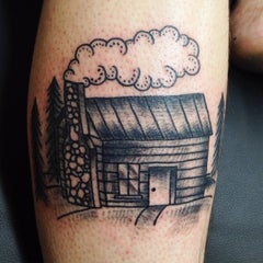 Photo taken at Northern Liberties Tattoo by Kyle F. on 6/25/2015