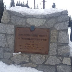 Photo taken at Donner Pass Summit by Richard Francis W. on 12/1/2012